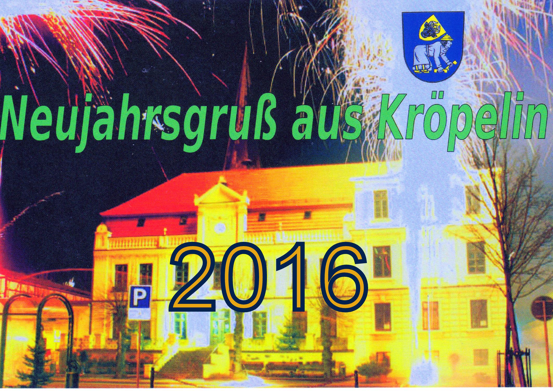 Ein unbeschwertes,gesundes und glückliches neues Jahr 2016 auf ...