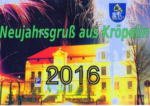 2 Neujahrsgruß aus Kröpelin 2016