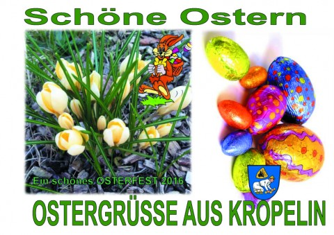 Ostergrüsse aus Kröpelin Kopie